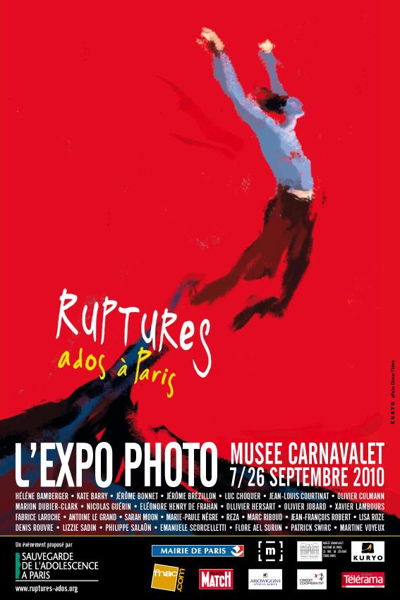 Ruptures Ados Paris Affiche KURYO